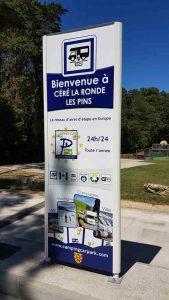 Aire Camping Car Park Céré la Ronde Indre et Loire