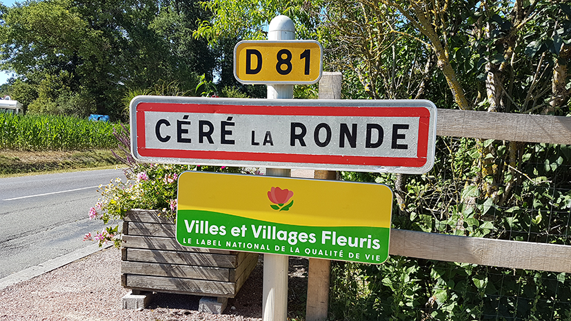 Village de céré la ronde, labellisé 1 fleur en 2018 au concours des villes et villages fleuri