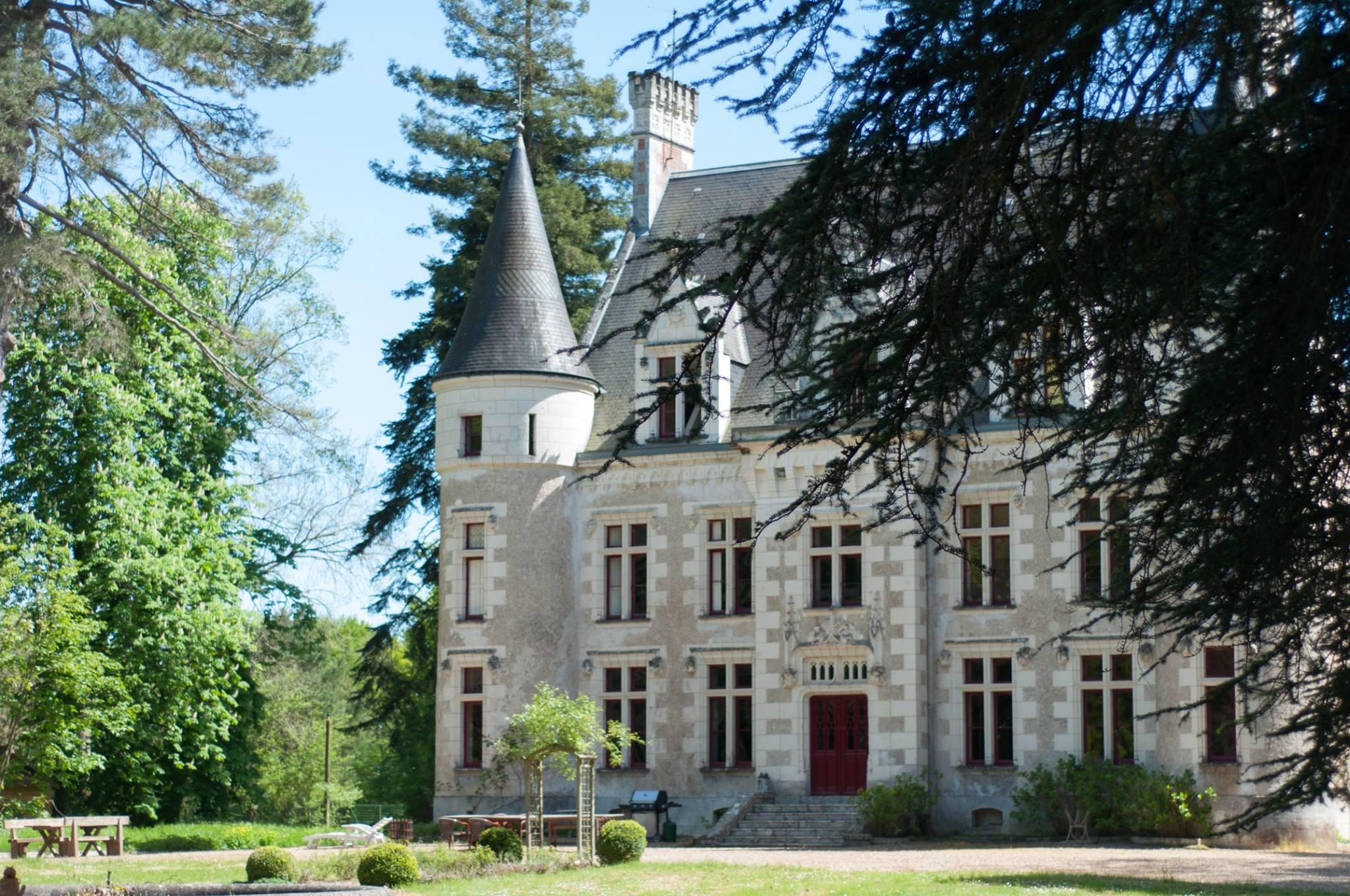 chambres d'hôtes au château du Grand Biard à Céré la Ronde