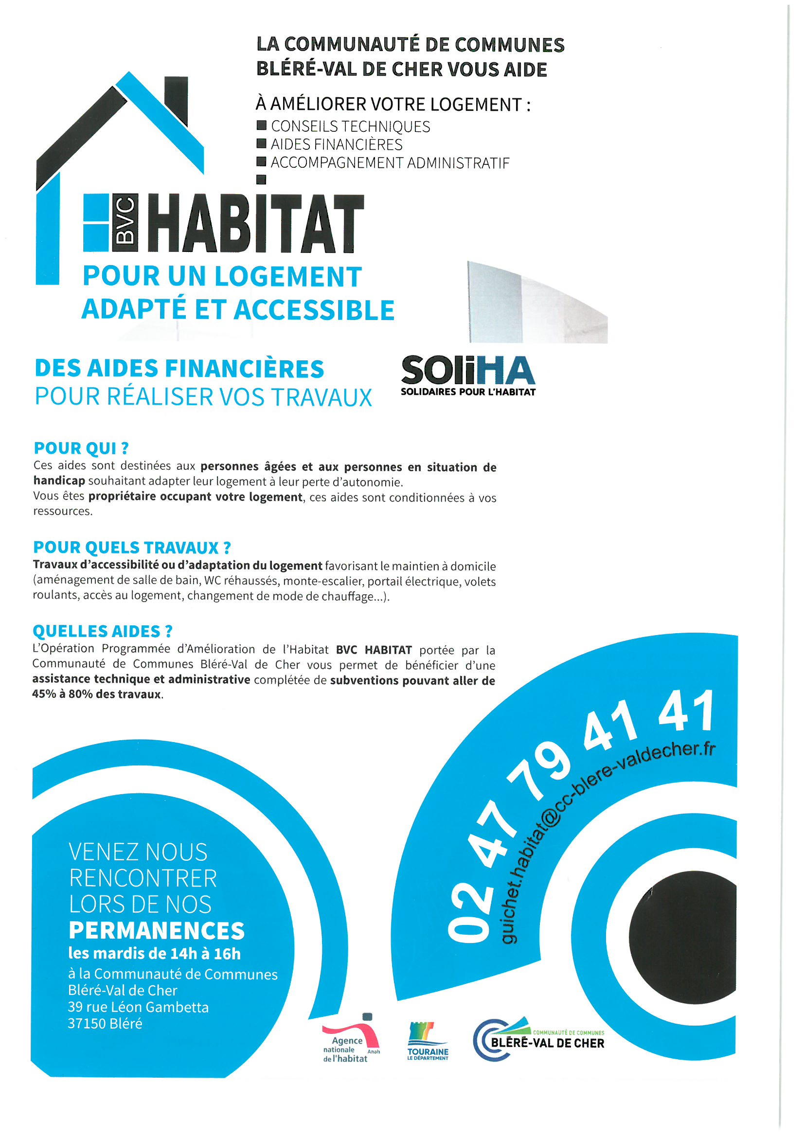 Bvc Habitat pour un logement adapté et accessible